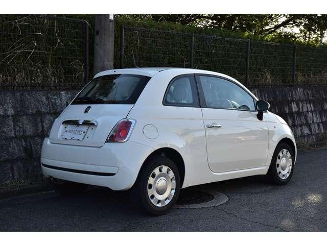 「フィアット」「500(チンクエチェント)」「コンパクトカー」「奈良県」の中古車3