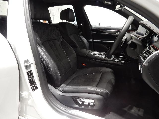 740d xDrive Mスポーツ 黒革 20インチ(7枚目)
