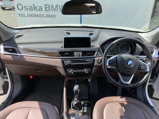 xDrive 18d xライン モカレザー ハイラインパッケージ コンフォートパッケージ HDDナビゲーション バックカメラ リアPDC コンフォートアクセス 電動リアゲート ワンオーナー車両(9枚目)