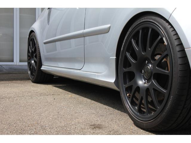 R32 NEEZ鍛造19インチ SACHS車高調 限定レカロ前席2脚 左ハンドル 6MT Alpilリアディフューザー 天張り張替え済み(14枚目)