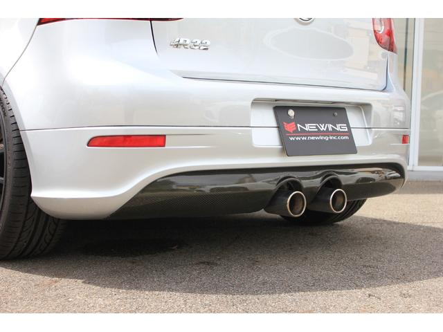 R32 NEEZ鍛造19インチ SACHS車高調 限定レカロ前席2脚 左ハンドル 6MT Alpilリアディフューザー 天張り張替え済み(15枚目)