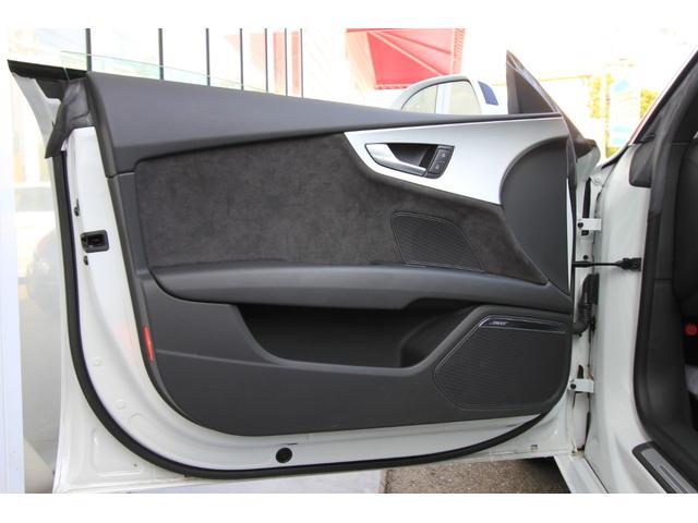 2.0TFSIクワトロ Sラインパッケージ サンルーフ 車高調 Alpil by Brombacher20インチアルミ S-Line専用シート 黒革 シーケンシャルウインカー(31枚目)