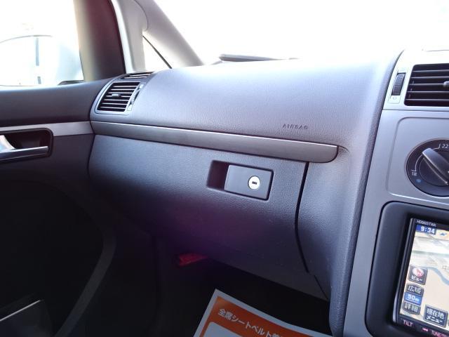 フォルクスワーゲン VW ゴルフトゥーラン TSI トレンドライン1.4ドラレコ付地デジナビ全国1年保証