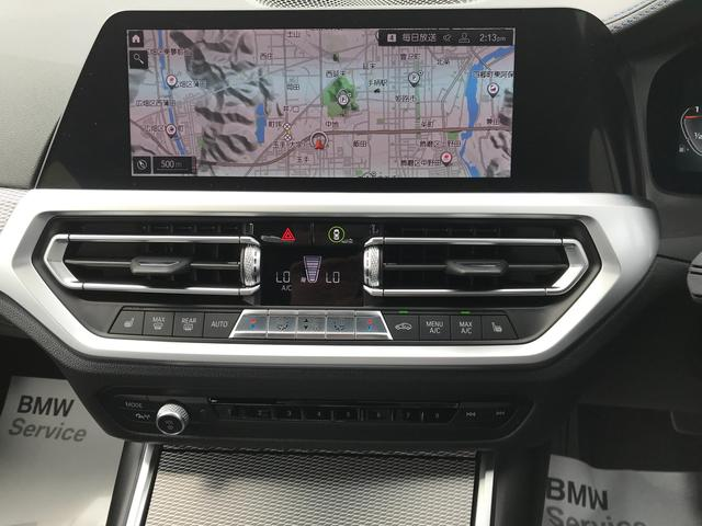 M340i xDrive 弊社デモカー ガラスサンルーフ ハンドルサポ パーキングサポプラス 軽減ブレーキ 純正HDDナビ トップビューカメラ 地デジTV ブラックレザー 19AW LEDヘッドライト ミラーETC(20枚目)