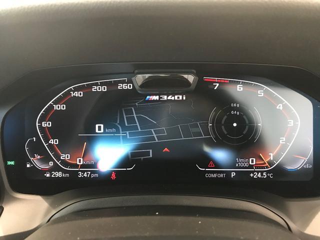 M340i xDrive ハーマンカードン ジェスチャーコントロール レーザーライト ヘッドアップディスプレイ アクティブクルーズコントロール アダプティブMサスペンション パーキングサポートプラスPKG 純正19インチAW(34枚目)