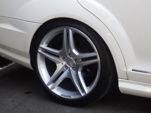S500ロングAMG 65後期仕様 左H SR地デジ マフラ(9枚目)