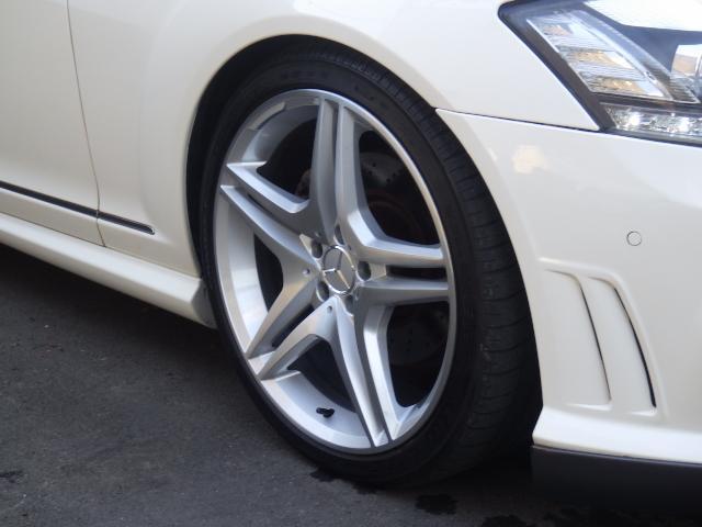S500ロングAMG 65後期仕様 左H SR地デジ マフラ(10枚目)