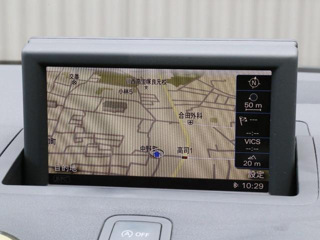 1.4TFSI 禁煙 整備記録簿 MMIナビ HDDナビフルセグTV DVD再生 Bluetooth ETC バイキセノンヘッドライト アドバンスドキーシステム(3枚目)