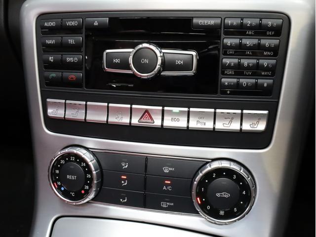 SLK200レーダーセーフティエディション 禁煙 特別仕様車 AMGスポーツパッケージ マジックスカイコントロールルーフ 赤革 純正ナビTV バックカメラ 前後コーナーセンサー レーダーセーフティパッケージ(19枚目)