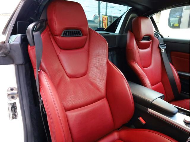 SLK200レーダーセーフティエディション 禁煙 特別仕様車 AMGスポーツパッケージ マジックスカイコントロールルーフ 赤革 純正ナビTV バックカメラ 前後コーナーセンサー レーダーセーフティパッケージ(60枚目)