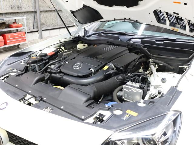 SLK200レーダーセーフティエディション 禁煙 特別仕様車 AMGスポーツパッケージ マジックスカイコントロールルーフ 赤革 純正ナビTV バックカメラ 前後コーナーセンサー レーダーセーフティパッケージ(71枚目)