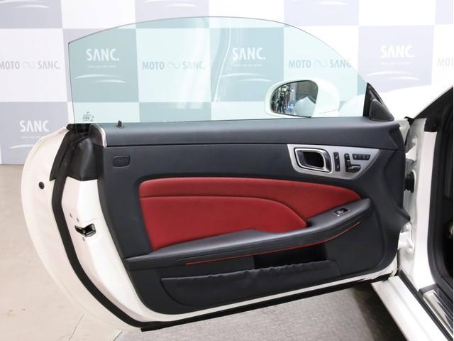 SLK200レーダーセーフティエディション 禁煙 特別仕様車 AMGスポーツパッケージ マジックスカイコントロールルーフ 赤革 純正ナビTV バックカメラ 前後コーナーセンサー レーダーセーフティパッケージ(74枚目)