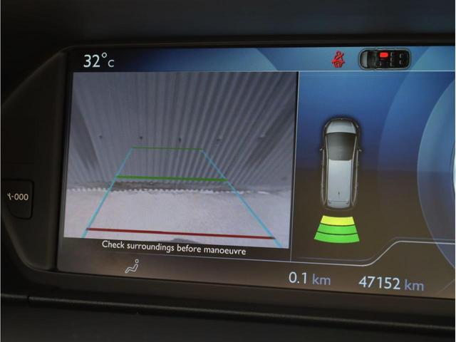 エクスクルーシブ 禁煙1オーナー 2トーンレザーシート シートヒーター 純正SDナビ フルセグTV 360度カメラ クルコン ブラインドスポット ガラスルーフ(7枚目)