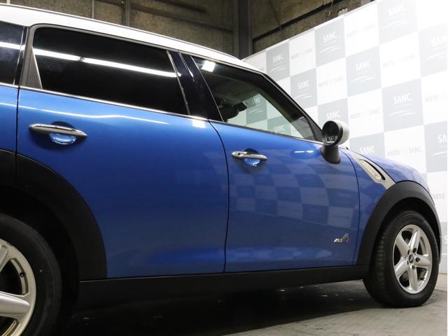 クーパー クロスオーバー オール4 禁煙 ディーラー整備記録簿 フルタイム4WD バイキセノンライト・16インチアルミ・ETC・ドライブレコーダー(69枚目)