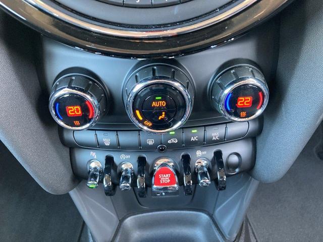 クーパーD 5ドア 弊社デモカー ペッパーPKG カメラ&パーキングアシスト LEDヘッドライト フロントリアPDC ホワイトルーフ&ミラーキャップ ETC(35枚目)