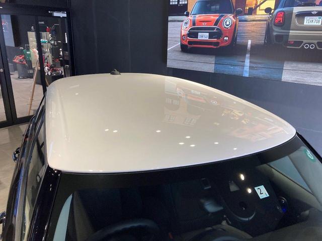 クーパーD 5ドア 弊社デモカー ペッパーPKG カメラ&パーキングアシスト LEDヘッドライト フロントリアPDC ホワイトルーフ&ミラーキャップ ETC(54枚目)