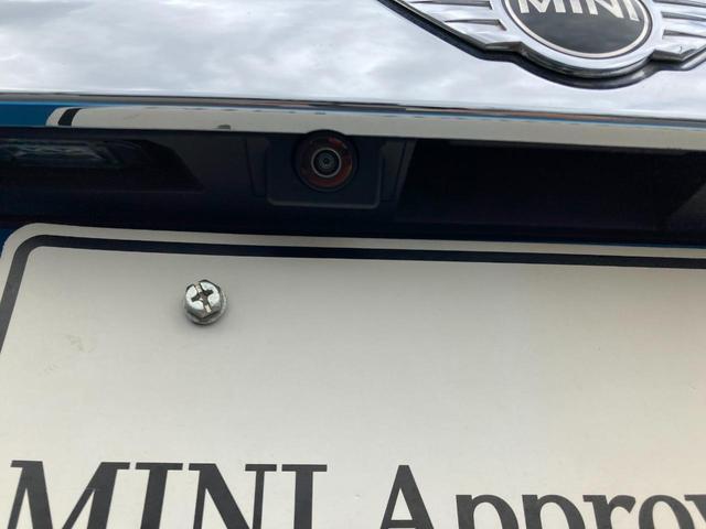 クーパーS 3ドア 純正ドラレコ インテリジェントセーフティ バックカメラ(18枚目)