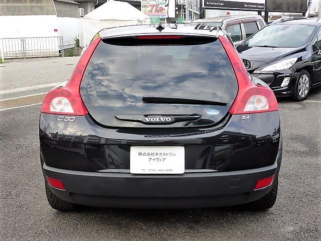 ボルボ ボルボ C30 2.4i SE 正規D車 黒革 HDDナビETC キセノン