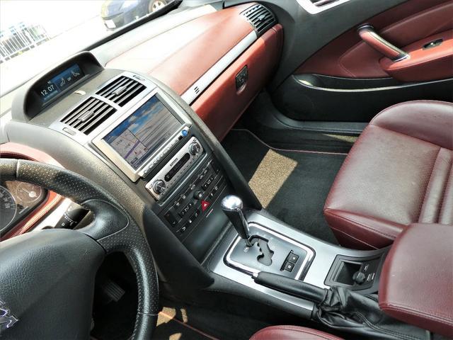 クーペ407 正規D車 左H 本革 ナビ地デジETC HID(17枚目)