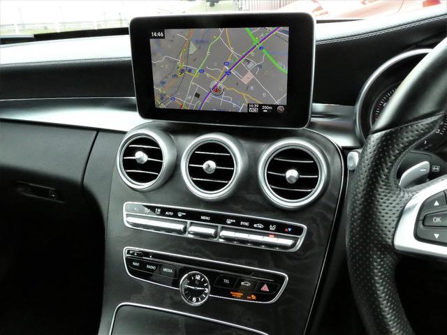 C220dアバンギャルド AMGライン 1年保証付/170項目 正規D車 黒革 純正ナビ地デジBカメラETC LEDライト レーダーセーフティーPKG(22枚目)