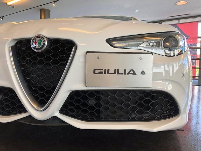 アルファロメオ ジュリア ヴェローチェ イタリアを匂わすデザイン