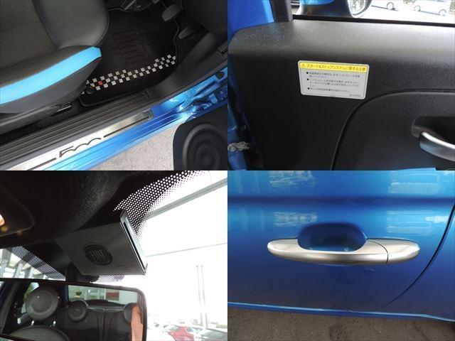 フィアット フィアット 500S ツインエア OZ16インチホイール ローダウン