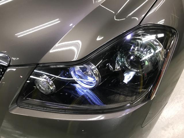 日産 フーガ 350XV GT仕様 後期バンパー XYZ車高調 HID
