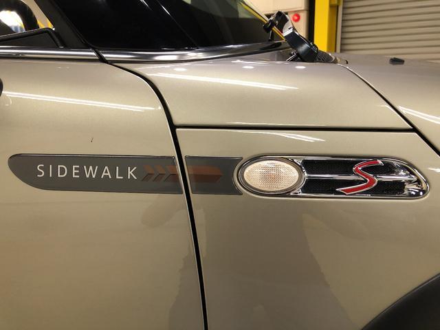 クーパーS コンバーチブル サイドウォーク 特別仕様車 電動オープン キャメルレザーシート カロッツェリアナビ 地デジTV 17AW(32枚目)