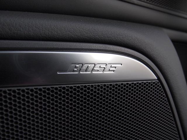 BOSEサウンドシステムの臨場感あふれるサウンドで快適なドライブをお楽しみください。
