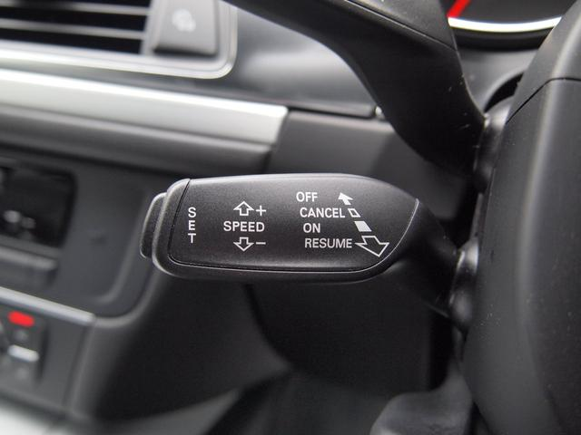高速道路、バイパスなどを走るときに便利なクルーズコントロールも装備。