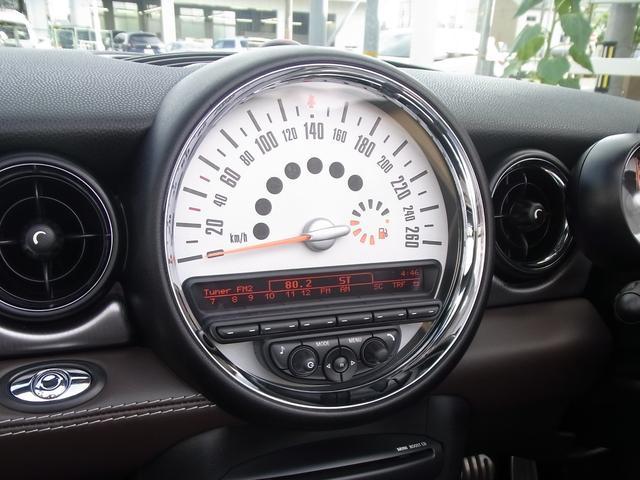 クーパーS コンバーチブル 特別仕様車ハイゲート 革シート(14枚目)
