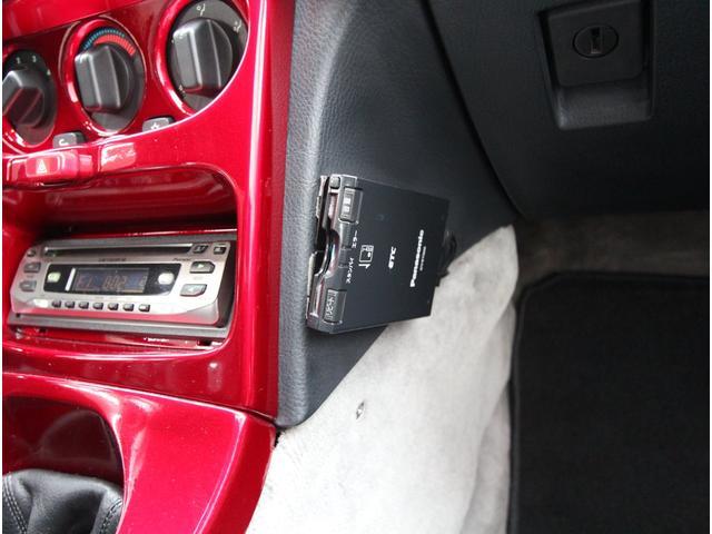 今やドライブには欠かせないETCも、もちろん装着済みです!