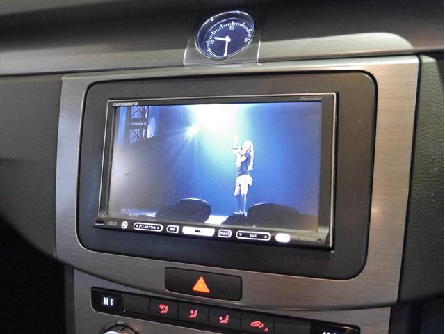 ●カロッツェリア製HDDナビを装備しております。フルセグTVやDVDビデオの視聴、HDD音楽サーバー機能も装備した多機能モデルです(^^)/ETCはキッチリセットアップ後にご納車致します♪
