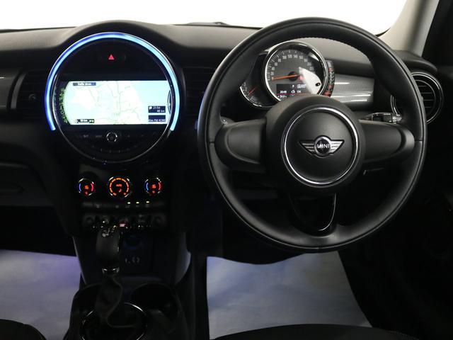 クーパー認定保証ナビETC車載器LEDライト純正アルミF55(5枚目)