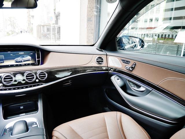 S550ロング AMGスポーツPKG パノラマルーフ 純正ナビ 地デジTV ETC 360°カメラ ブルメスタサウンドシステム AMG19インチAW シートヒーター&クーラー ディストロニックプラス(16枚目)