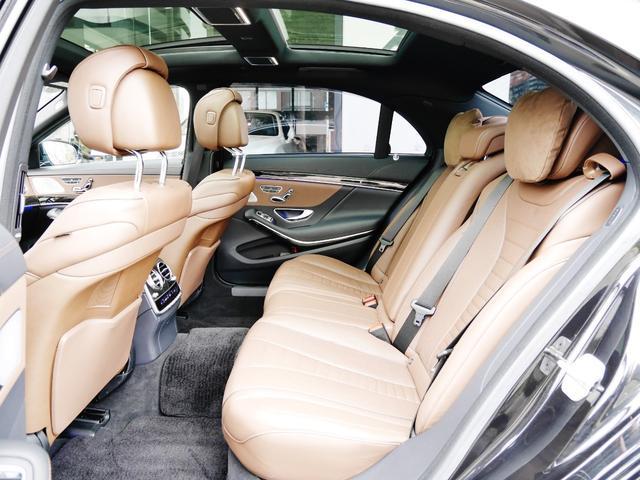 S550ロング AMGスポーツPKG パノラマルーフ 純正ナビ 地デジTV ETC 360°カメラ ブルメスタサウンドシステム AMG19インチAW シートヒーター&クーラー ディストロニックプラス(24枚目)