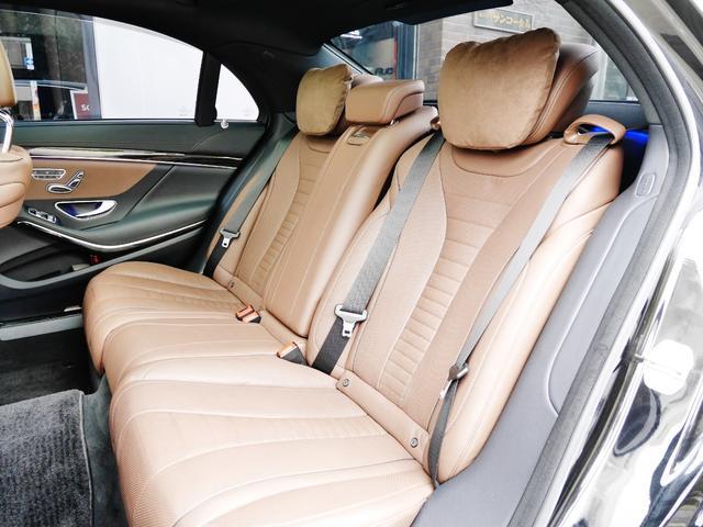 S550ロング AMGスポーツPKG パノラマルーフ 純正ナビ 地デジTV ETC 360°カメラ ブルメスタサウンドシステム AMG19インチAW シートヒーター&クーラー ディストロニックプラス(25枚目)