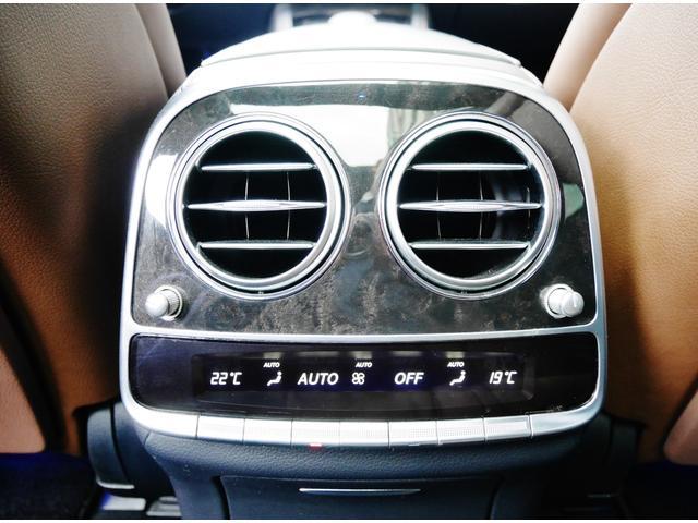 S550ロング AMGスポーツPKG パノラマルーフ 純正ナビ 地デジTV ETC 360°カメラ ブルメスタサウンドシステム AMG19インチAW シートヒーター&クーラー ディストロニックプラス(27枚目)