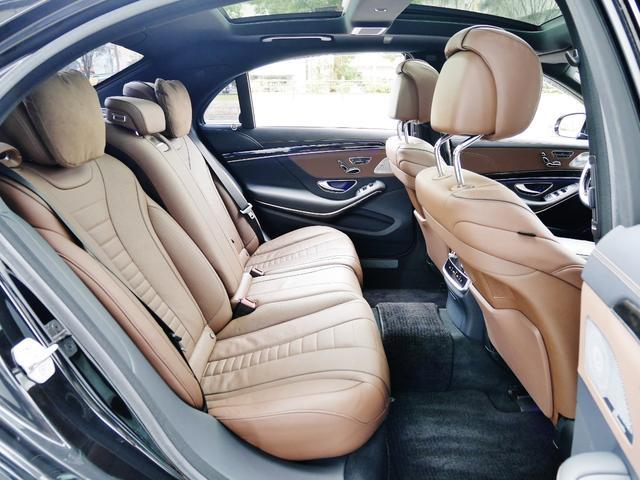 S550ロング AMGスポーツPKG パノラマルーフ 純正ナビ 地デジTV ETC 360°カメラ ブルメスタサウンドシステム AMG19インチAW シートヒーター&クーラー ディストロニックプラス(28枚目)
