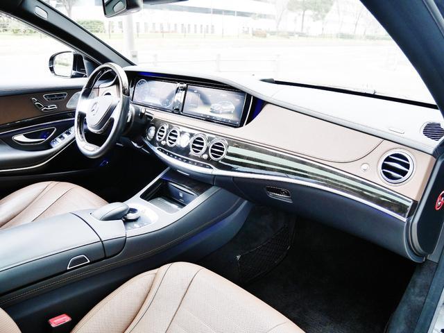 S550ロング AMGスポーツPKG パノラマルーフ 純正ナビ 地デジTV ETC 360°カメラ ブルメスタサウンドシステム AMG19インチAW シートヒーター&クーラー ディストロニックプラス(34枚目)