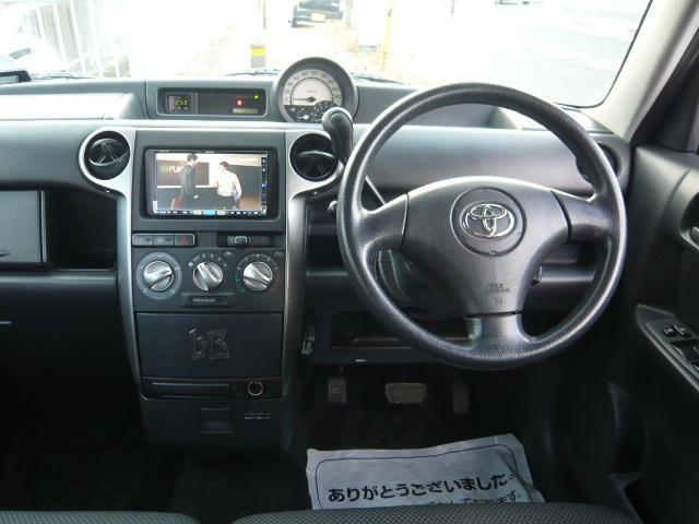 トヨタ bB Z Xバージョン後期型1年保証地デジHDDナビ社外アルミ
