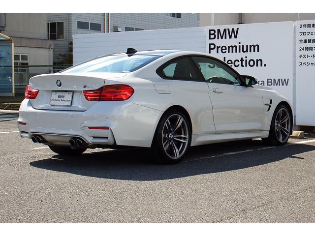 BMW BMW M4クーペMDCTドライブロジック19AW LED