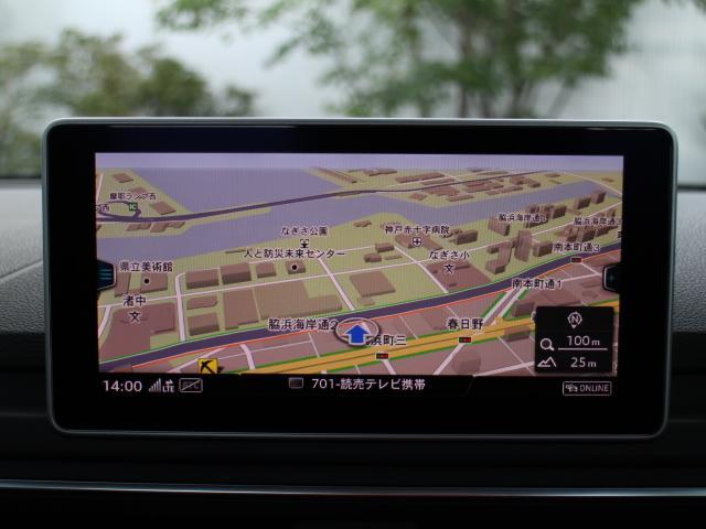 アウディ アウディ A4 2.0TFSI LEDヘッドライト アルミ センサーカメラ