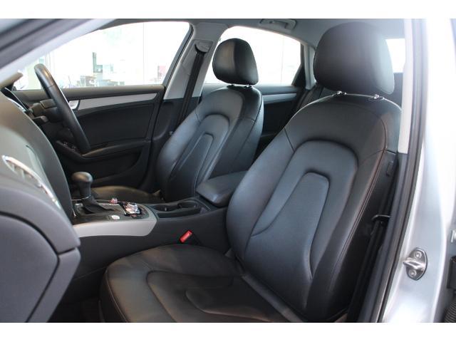 ●高品質で丈夫なフルレザーシート付き車でございます。室内をより高級に演出しております。さらにシートヒーター付ですので寒い冬でも心地よく運転していただけます。助手席にも付いています。