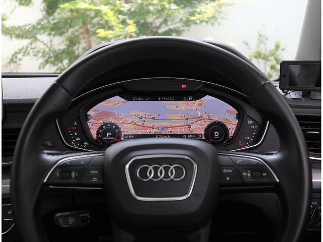 先進技術のバーチャルコクピット。運転姿勢を崩さず車載コンピューターからナビまで直感的に操作が可能になりました。