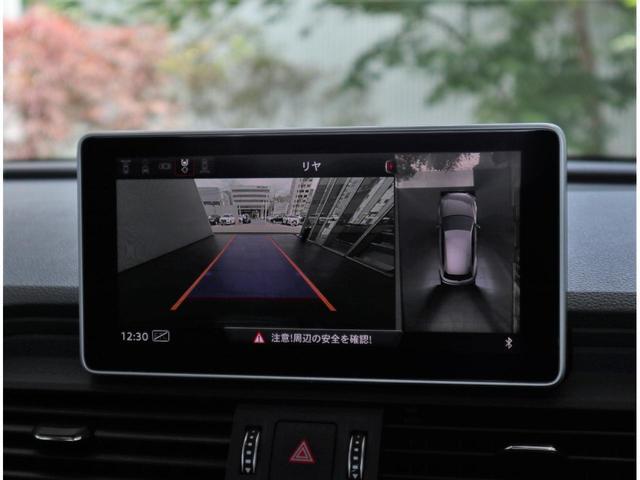 ●高解像度のバックモニターです。昼夜問わずモニターにて後方を確認でき安心して駐車が可能です。
