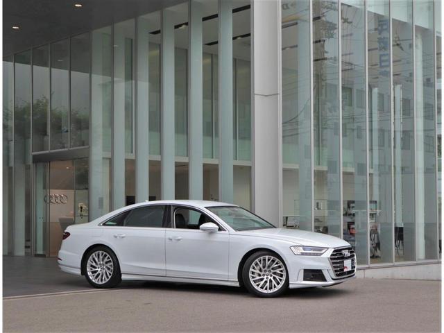 ●高級感のあるデザインです。Audiの持つ「品の良さ」が伝わってきます。