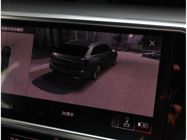 ●広角カメラで全周囲360度を捉え、様々な角度からの映像を映し出すことで、駐車時の操作をより簡単に行えます。合成された車体を360度の3Dで表示することができ、車体の映像を指先で変えて確認できます。