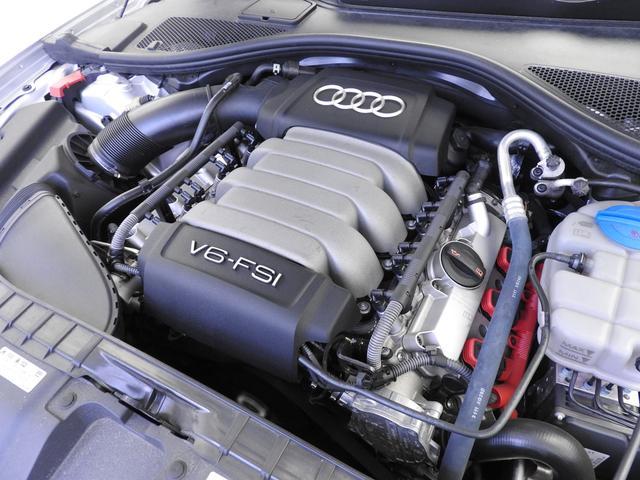 アウディ アウディ A6 2.8FSIクワトロ 純正HDDナビ LEDライト 認中車
