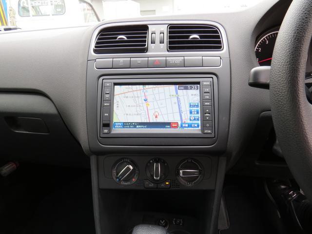 フォルクスワーゲン VW ポロ TSIコンフォートライン メモリーナビ地デジTV ETC
